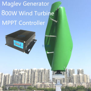 800W Vertical Maglev Wind Turbine for Home Use
