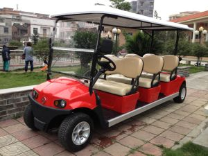 Hot Sale 6 Seaters High Performance Electric Golf Buggy on Sale