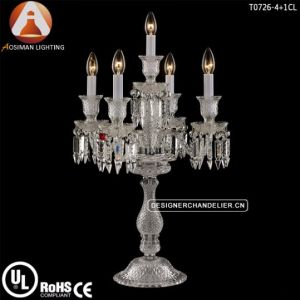 China Baccarat Crystal Chandelier Table Light China Table Light