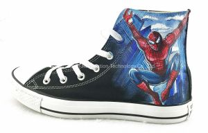 High Top Custom Painted Shoes, Custom Painted Canvas/Casual Shoes/Sneakers