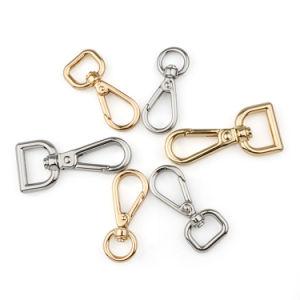 30x Metal Clip Lanyard Hook Buckle Spring Snap Clip Hooks Purse Jewelry Findings