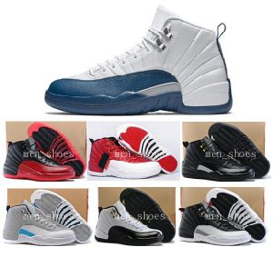 Retro 12 Ovo Playoffs Shoes Sport Shoes Sneaker Basketball Shoes