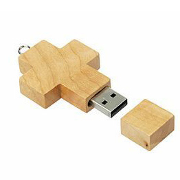 Wood Bamboo Eco USB Flash Drive USB2.0 Logo Customized