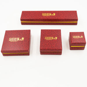 Hot Sale Paper Cardboard Packing Packaging Gift Jewelry Box (J04-E1)
