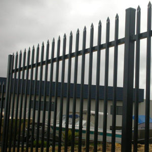 Powder Coating Tubular Steel Fencing/Tubular Security Fences/Tubular Fences