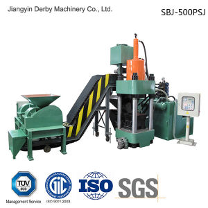 Briquetters Automatic Aluminum Iron Metal Scrap Hydraulic Briquette Recycling Machine-- (SBJ-500) pictures & photos