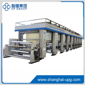 Automatic Rotogravure Printing Press for Transfer Printing Paper (ZHMG-802100E) pictures & photos
