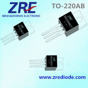 10A Sr1040fct Thru Sr10200fct Schottky Barrier Rectifier to-220ab Package pictures & photos