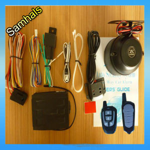 New and Security Wireless DC 12V One-Way Car Alarm System with Long Distance Keyless Entry System pictures & photos