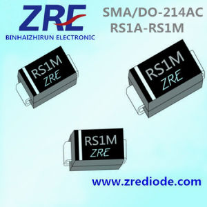 1A RS1a Thru RS1m Surface Mount Fast Recovery Rectifier Diode SMA/Do-214AC pictures & photos