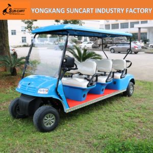 Powerfull Electric 6 Passenger Golf Cart, Sightseeing Golf Cart, Cheap Golf Cart for Sale