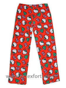custom printing wholesale family christmas kids winter sleepwear lovely printed coral fleece pajama pants