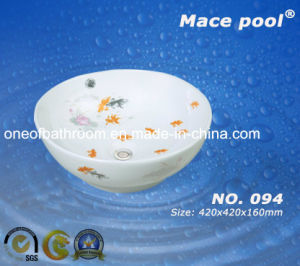 Fashion Sanitary Ware Ceramic Art Basin for Bathroom (094) pictures & photos
