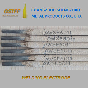 3.2mm× 350mm 5kg/Pkg E6011 Welding Rod 6011 Stick Welding Electrode