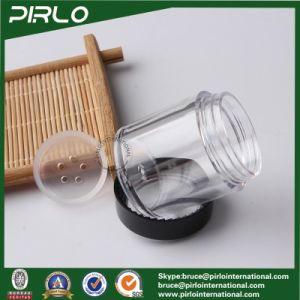 30g Pet Plastic Cosmetic Jars Containers Wide Mouth Eye Cream Plastic Jar with Screw Lid pictures & photos