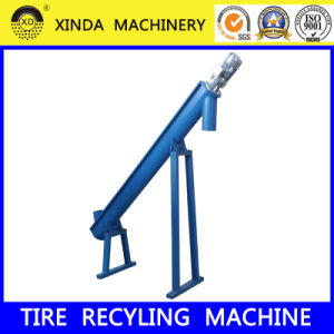 Xinda Ls Screw Conveyor Rubber Powder Conveyor Waste Tire Recycling pictures & photos