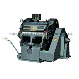 Creasing and Die Cutting Machine (Ml-750) Corrugated Paper pictures & photos