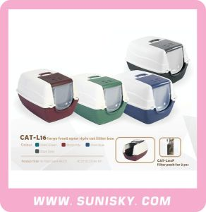 Large Front Open Style Cat Litter Box pictures & photos