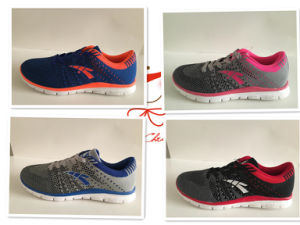 New Style Fashion Fly Knit Shoes Sport Running Shoes Footwear