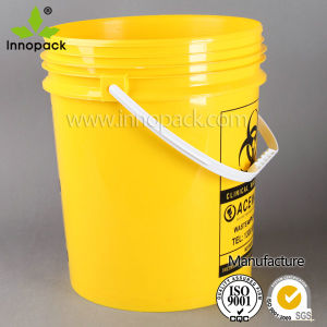 Manufacturer of Recycled Plastic Paint Buckets for Paint and Chemical Use pictures & photos