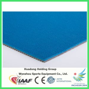 Iaaf Prefabricated Rubber Mat/Rubber Flooring pictures & photos