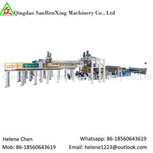 Tpo Waterproof Coil Manufacture Production Line with Sanding