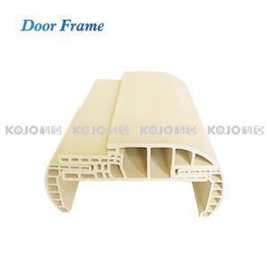 Solid PVC Foamed Wood Plastic Composite Door Jamb Architrave (MT-8025) pictures & photos