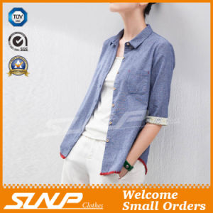 OEM Manufacturer Women High Quality Button-Front Shirt