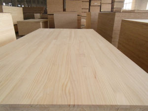 America Red Oak, Chile Pine Finger Joint Board pictures & photos