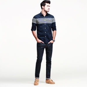 Mens Fashion Designer Shirts/Latest Shirts Pattern for Men pictures & photos
