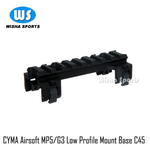 Cyma Airsoft MP5/G3 Low Profile Mount Base C45