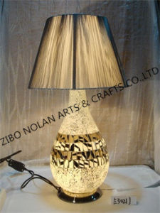 Fabric Table Lamp of Interior Decoration