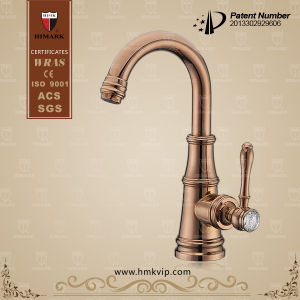 Himark Antique Brass Single Handle Water Faucet for Basin