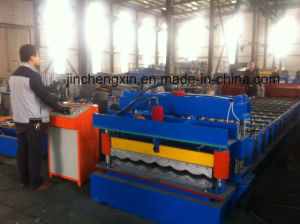 Glszed Tile Roofing Roll Forming Machine pictures & photos