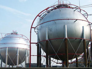 1000m3LPG Spherical Tank