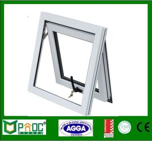 Aluminum Alloy Standard Bathroom Window Size Awning With Low E Gl