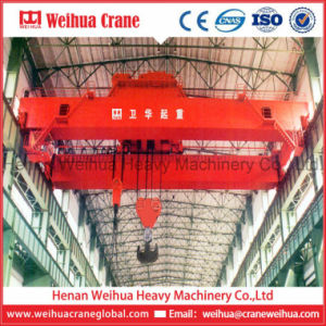 Double Girder Overhead Crane 50 Ton Automatic Lifting Crane for Sale pictures & photos