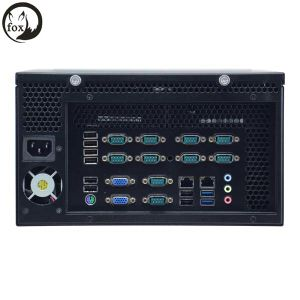 Embedded PC, Wall Mounted PC Support LGA1150 CPU, 1 VGA, 8 USB2.0, 10 COM, 2 USB3.0, 2 LAN pictures & photos