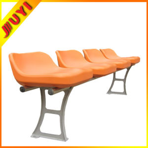 Blm-2527 Lightweight Outdoor Reclining Chair Modern Purple Plastic Orange Not Folding Stadium Seat pictures & photos