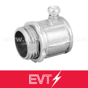 Aluminum EMT Connector (combined conduit to box) pictures & photos