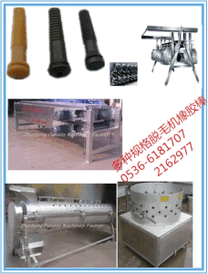 Rubber Stick of Chicken Feet Peeling Machine pictures & photos