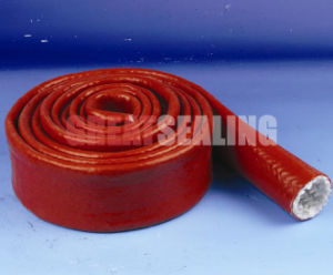 Glass Fiber Insulation Sleeving Coated with Silicone Rubber