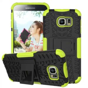 Protective Stand Combo Mobile Cell Phone Case for Samsung S6
