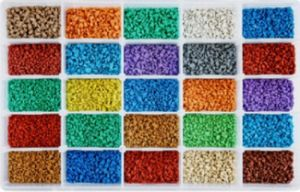 Colored EPDM Granules for Plastic Runway