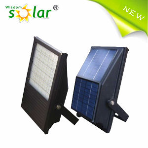 Easy Install and Patent Look LED Solar Flood Light for Outdoor Lighting (wisdomsolar JR-PB001)