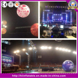 Top Sale Full Printing Giant Inflatable Earth Moon Mercury Mars Balloon Ball