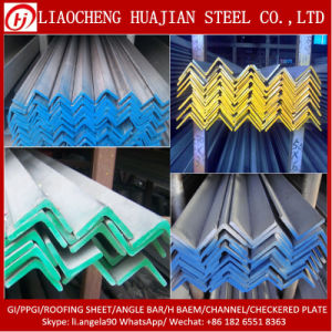 Q345b High Strength Hr Steel Angle with OEM pictures & photos