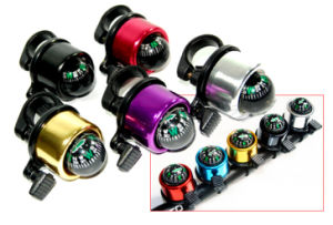 Bike Accessories (TK135) Colorful Bicycle Compass Bell