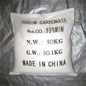 China Factory Soda Ash Light/Sodium Carbonate 99.2% Na2co3
