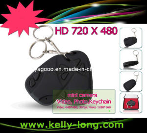 HD 720p Mini Car Key Camera With Keychain